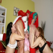 When santa visits you know youre gonna get a special surprise
