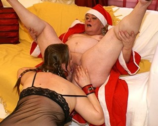 Horny mrs claus